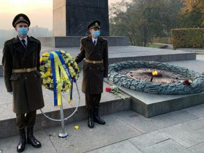 Президент вшанував пам'ять українців, які віддали життя за визволення України від нацистських загарбників