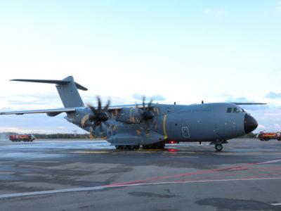 Збройні сили Люксембургу отримали новий військово-транспортний літак A400M