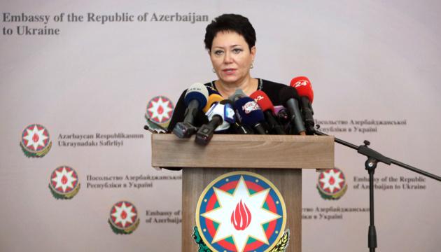 Азербайджан вдячний Україні за підтримку територіальної цілісності – Ельміра Ахундова