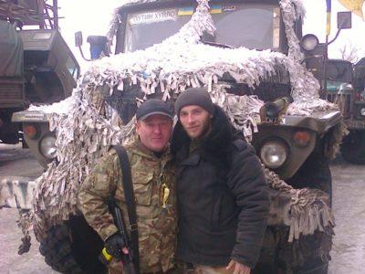 Батько і син Крижанівські проїхали фронтовими дорогами Донбасу не одну тисячу кілометрів