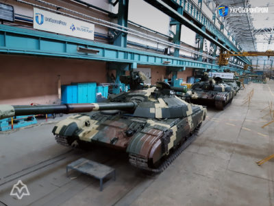 Українському війську передали модернізовані «Булати»
