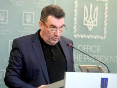 Секретар РНБО назвав послання Президента України до Верховної Ради чітким планом дій