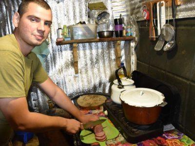 «Поваром, кулінаром і куховаром став тут, на війні!..»