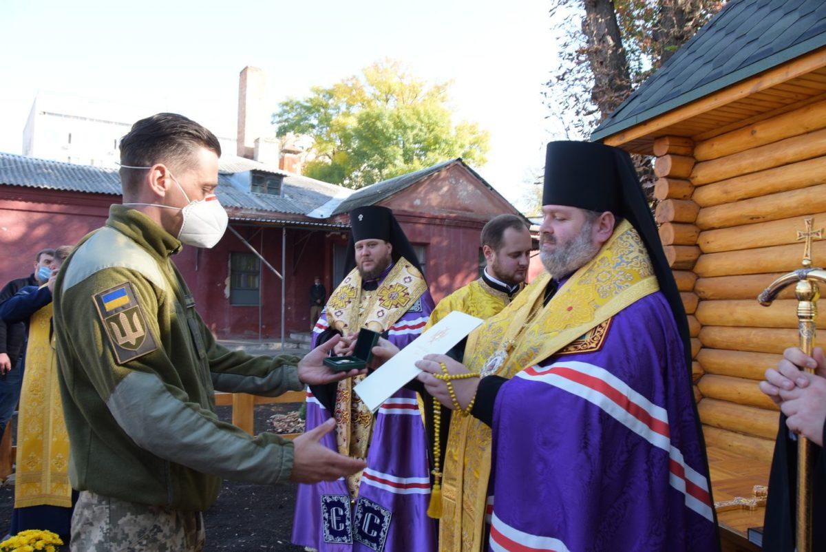 У Харкові освятили та відкрили каплицю на честь святителя Луки Кримського