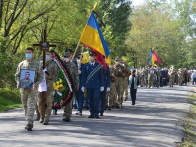 Мелітопольці попрощались із земляками, які загинули в катастрофі Ан-26Ш