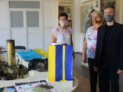 «На півдні України не сепари!», або Як школярі на Херсонщині музей АТО організували