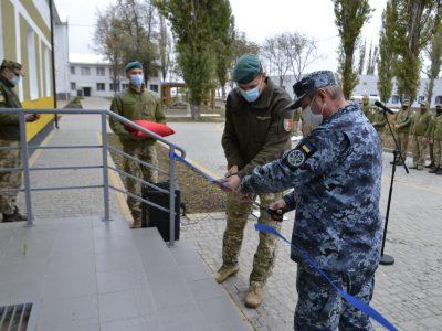 На Одещині у морських піхотинців новосілля