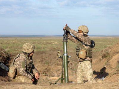 «Чорні Запорожці» вдосконалили майстерність стрільби з 82-міліметрових мінометів