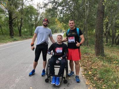 Ветеран ЗС України Віктор Легкодух здолав Лондонський марафон