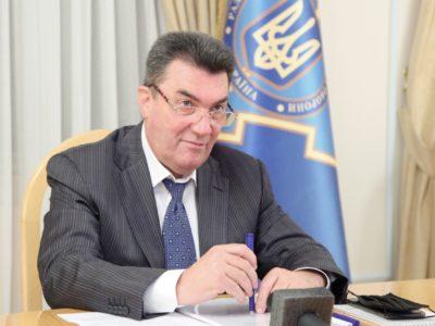 РНБО готова до будь-якого розвитку подій з Росією – Данілов