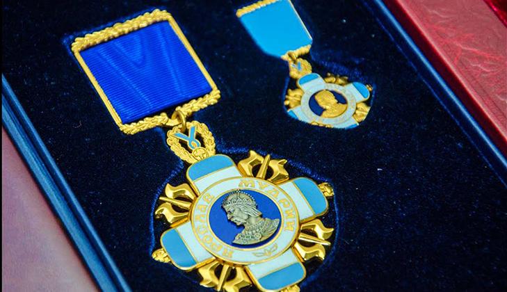 Володимир Зеленський нагородив Президента Туреччини орденом князя Ярослава Мудрого І ступеня