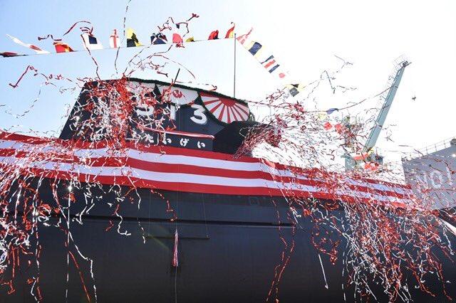 Японія спустила на воду підводний човен нового покоління
