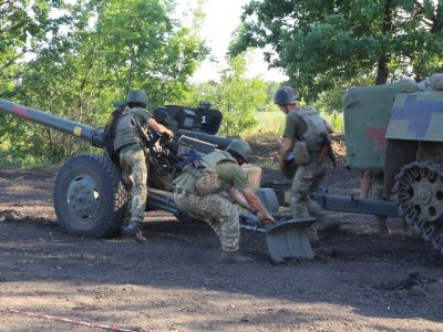 Піт артилерії заощаджує кров піхоти!