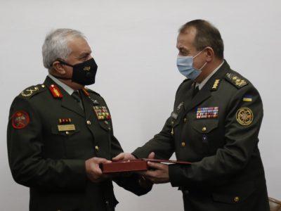 Уперше за 30 років Україну відвідала делегація Збройних Сил Йорданського Хашимітського Королівства