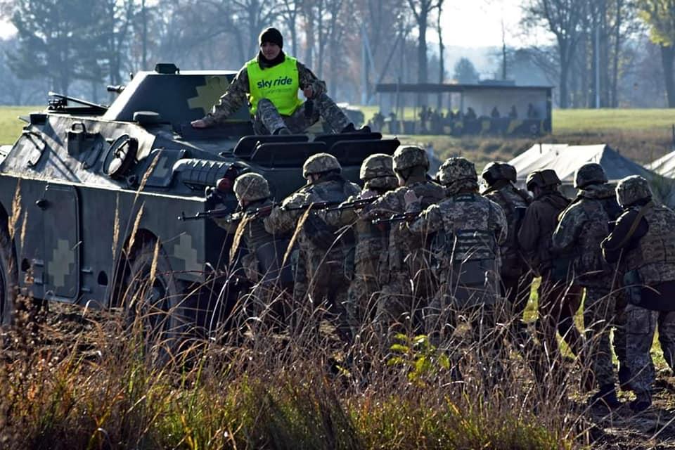 Піхотинці бригади імені гетьмана Виговського завершили спільні з прикордонниками навчання