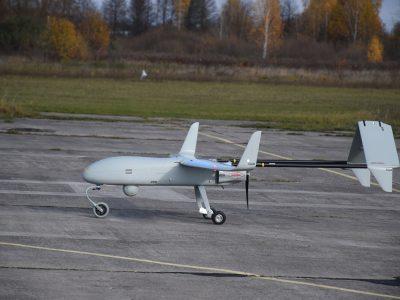 Військові науковці випробовують новітній безпілотний авіаційний комплекс «PD-2»