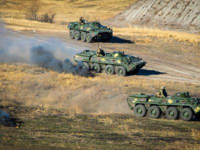 На Донбасі підрозділи ООС ліквідували умовний ворожий десант