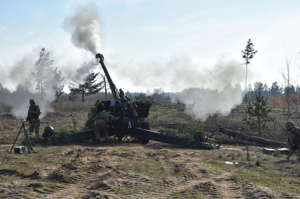 Запорізькі артилеристи успішно виконали поставлене завдання під час наступальної операції