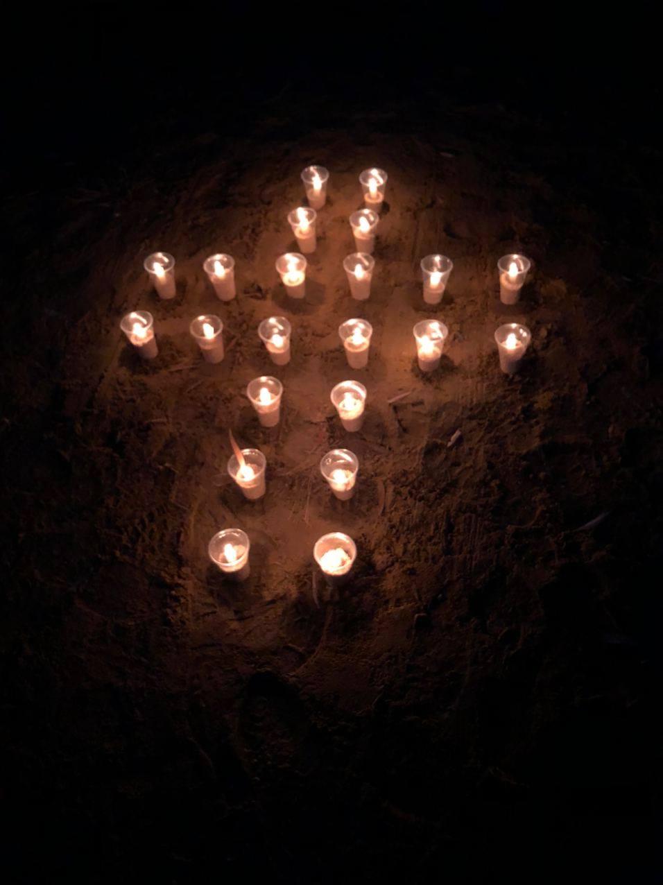 Воїни-десантники в районі ООС вшановували пам'ять жертв голодоморів