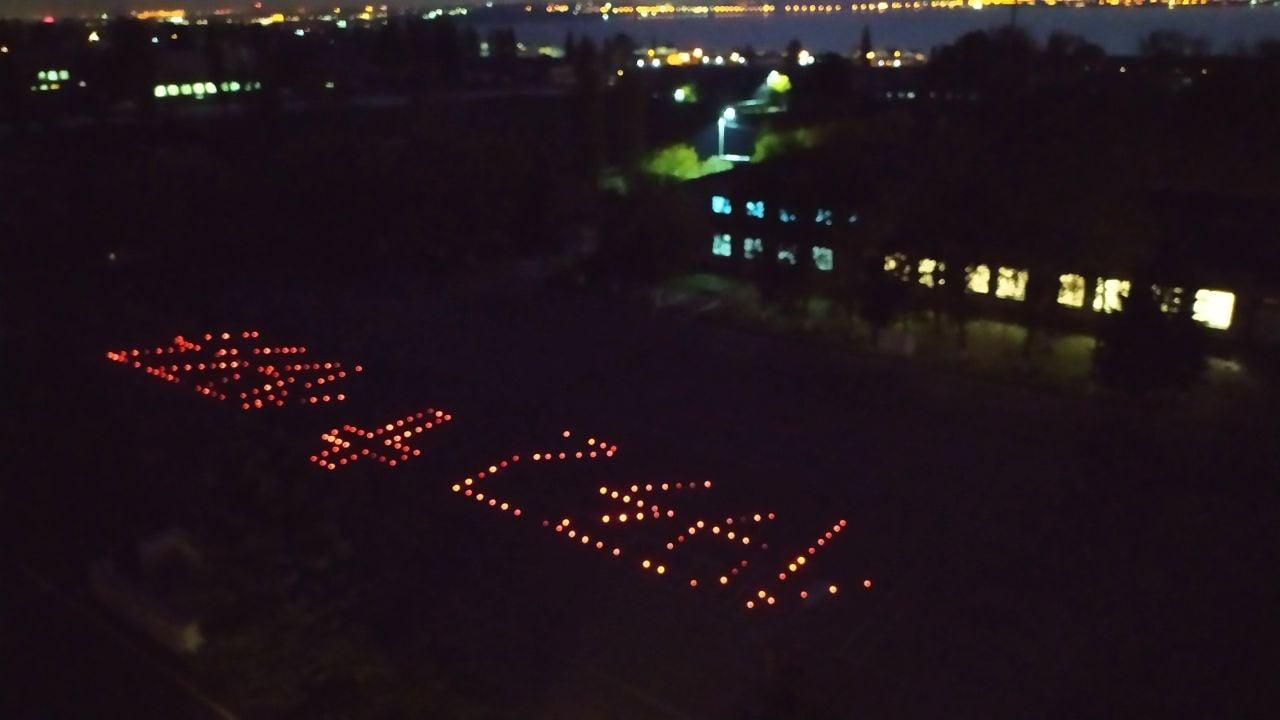 Воїни ремонтники дорожать пам'яттю про жертви голодоморів в Україні