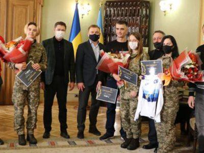 Голова Львівської ОДА нагородив армійських спортсменів