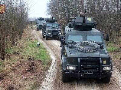 На Житомирщині десантники відпрацьовують комплекс завдань під час заходів з бойової підготовки