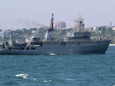 Судно ВМС України «Балта» проходить ходові випробування після докового ремонту
