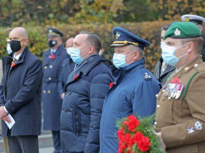 Високопосадовці Міністерства оборони та Генерального штабу ЗСУ вшанували пам'ять загиблих у військових конфліктах