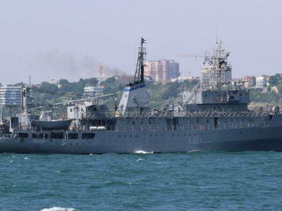 Завершено ремонт судна забезпечення ВМС України «Балта»