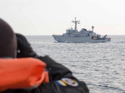 У Чорному морі українські ВМС тренувалися з кораблями НАТО
