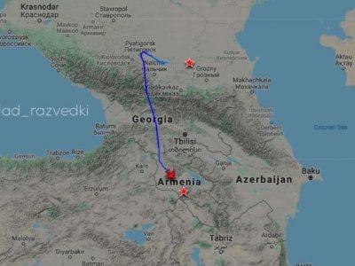 Грузія відкрила повітряний простір для перекидання російських «миротворців» в Карабах
