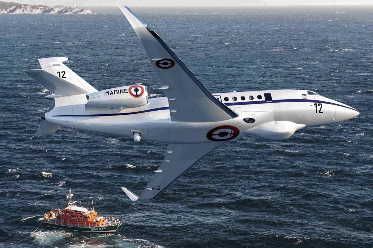 Франція замовила нові патрульні літаки Falcon 2000