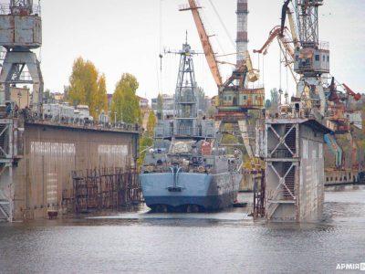 Завершено ремонт десантного корабля «Юрій Олефіренко»