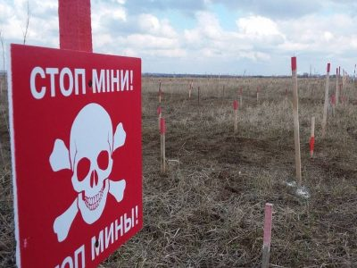 Як міжнародні гуманітарні структури допомагають розміновувати Донбас