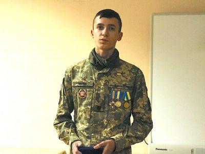 Наймолодший лицар ордена «За мужність», курсант Олександр Гаркуша — як приклад майбутнім захисникам