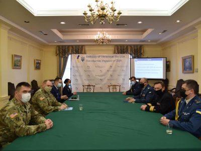 У Посольстві України в США обговорили оборонну реформу в Україні та пріоритети співробітництва з НАТО
