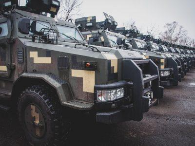 Морпіхи отримали партію броньованих автомобілів «Козак-2»