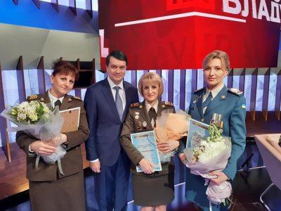 Старшину Ольгу Бабкіну визнано найкращою сестрою милосердя України