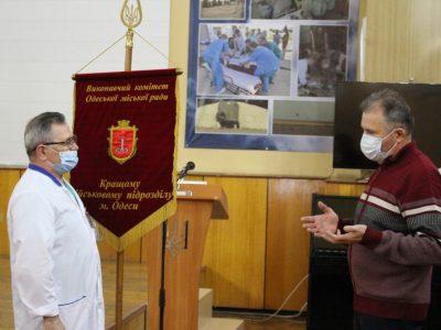 Найкращий військовий підрозділ Одеси – клініка  травматології та ортопедії ВМКЦ Південного регіону