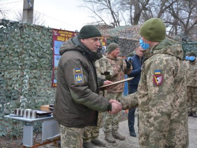 Очільник Об'єднаних сил привітав десантно-штурмову бригаду із днем створення військової частини