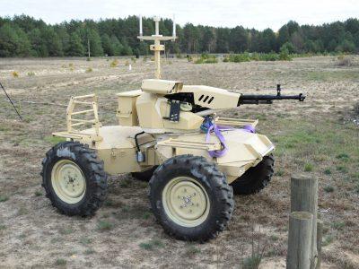 «Наземний безпілотник» для армії пройшов практичні випробування