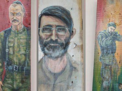 Фронтові замальовки: на Тернопільщині відкрилася виставка картин ветеранки Світлани Луців