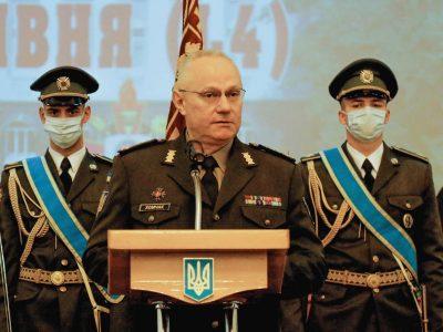 Нових звитяг та горизонтів побажав Руслан Хомчак випускникам курсів професійної військової освіти