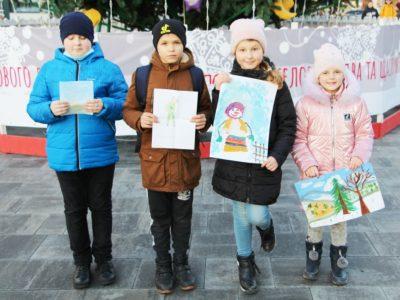 Діти загиблих воїнів Рівненщини передали різдвяний привіт на передову