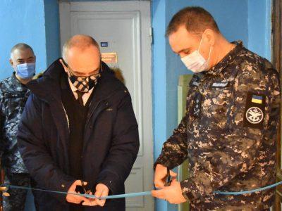 В Інституті Військово-Морських Сил відкрили сучасний лінгафонний кабінет