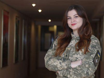 Як переможницю конкурсу «Берегиня в погонах – 2020» зустріли в рідній академії