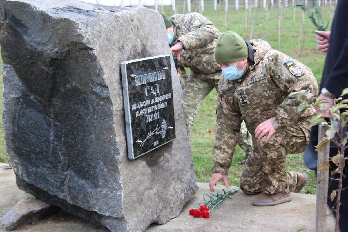 У Вінниці відкрито меморіальну дошку на місці концтабору «Шталаг-329»