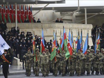 У Баку відбувся військовий парад на честь перемоги у війні за Карабах