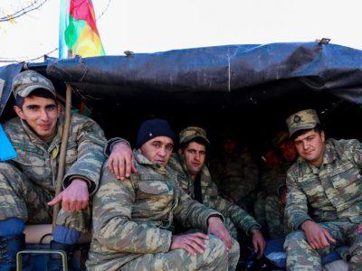Нагірний Карабах: армія Азербайджану ввійшла в останній із трьох районів, які переходять під контроль Баку