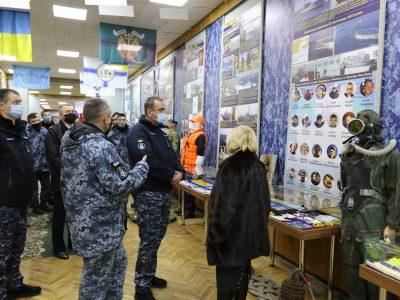 В Одесі відкрили оновлену експозицію, присвячену історії ВМС ЗС України